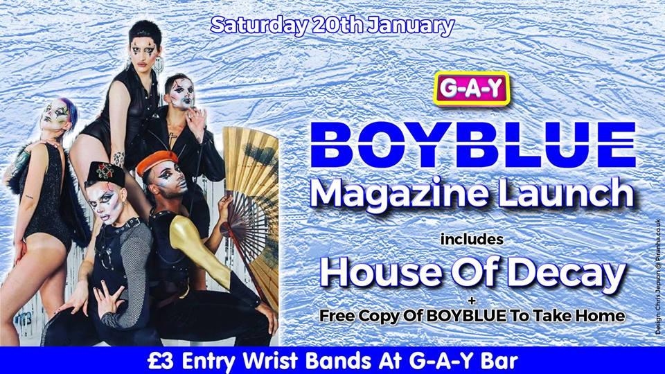 boy blue gaydar weekend